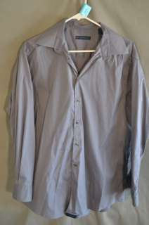 Material London Button Front Long Sleeve Shirt