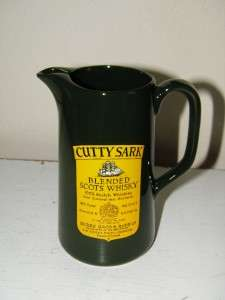 Vintage Cutty Sark Blended Scots Whisky Pitcher Wade Regicor England
