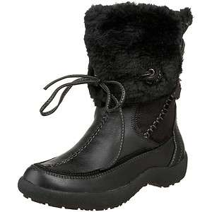 Wanted OKEMO Womens Black Faux Fur Ankle Dress Boot