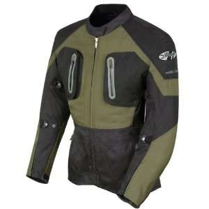 JOE ROCKET BALLISTIC 8.0 JACKET (X LARGE) (BLACK/OLIVE