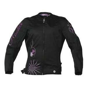 JOE ROCKET HEARTBREAKER WOMENS TEXTILE JACKET BLACK XS