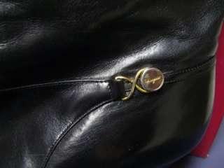 Salvatore Ferragamo Piega 16 leather boots 7 1/2 AAAA