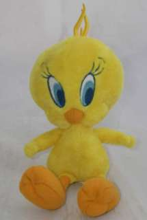 Aurora World Plush Looney Tunes Tweety Bird 7 Tall
