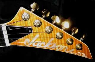 Jackson USA Custom Shop Archtop Soloist Solar Flame New
