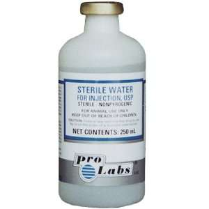 Pro Labs Sterile Water   250 ml: Pet Supplies
