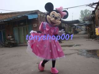 Adult size Minnie Mouse mascot Costume