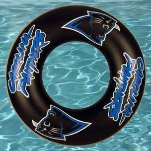 NFL Carolina Panthers Inner Tube Pool Float Sports & Outdoors