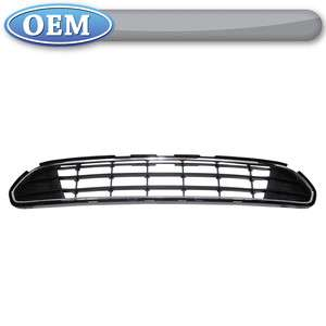 OEM NEW 2010 2012 Ford Fusion Front Lower Grille   Black with Chrome