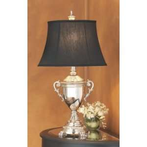 URN STYLE BELL SHADE BLACK LINED SOFT HIGH QUALITY MODERN DESIGN Home