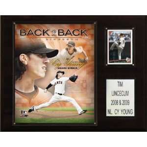 MLB Tim Lincecum Back 2 Back Cy Young San Francisco Giants