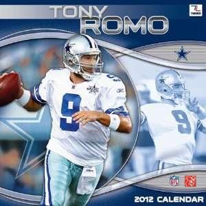 Dallas Cowboys Tony Romo 2012 Player Wall Calendar: Sports