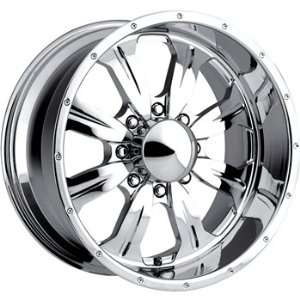 USA Forged 501 20x10 Chrome Wheel / Rim 8x6.5 with a  24mm