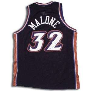 Karl Malone Utah Jazz Autographed Jersey Sports