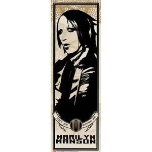 Marilyn Manson (Eat Me, Drink Me) Music Poster Print: Home