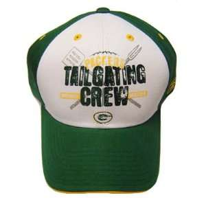 NFL GREEN BAY PACKERS TAILGATE CREW COTTON HAT CAP OSFA