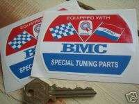 BMC Special Tuning old style stickers Mini MG Healey