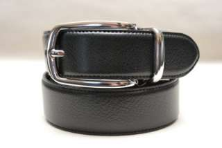 POLO RALPH LAUREN MENS 38 REVERSIBLE BLACK LEATHER BELT