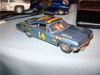 Old 1/32 IMC #14 1965 Chevy Impala 2DR Hardtop Stock Car Slot Car