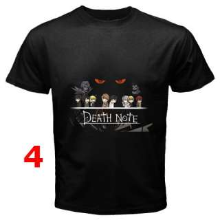 Death Note Collection T Shirt S 3XL   Assorted Style #3