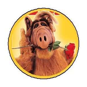 Alf 80s Funny Retro Punk Emo 1.25 Pin Button Badge