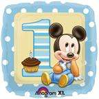 MICKEY MOUSE 1ST FIRST BIRTHDAY BALLOONS party supplies
