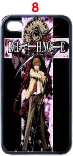 Death Note Anime Apple iPhone 4 Case (Black)