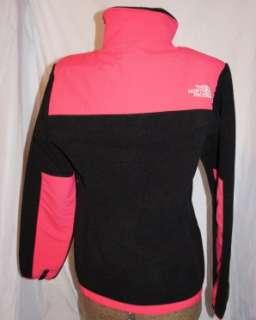 North Face WOMENS Medium Denali Fleece JACKET Retro Pink/Black NWT