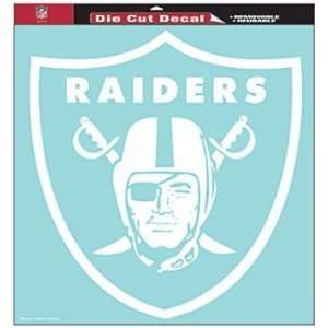 Oakland Raiders Nfl 18X18 Die Cut Decal Wincraft 27722061