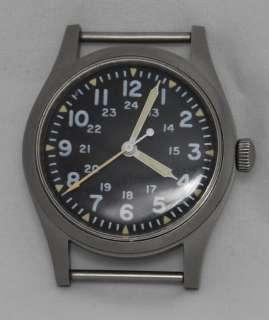1983 Hamilton U.S.A. Military GG W 113 17 Jewels Wrist Watch