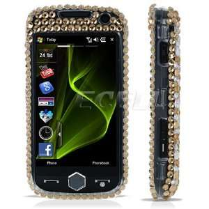 Ecell   GOLD 3D RHINESTONE CRYSTAL DIAMOND BLING CASE FOR