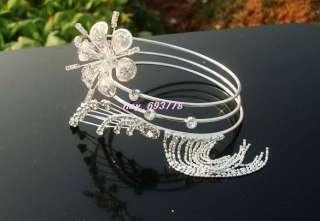 New Fashion Style Crystal Rhinestone Flower Armlet
