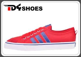 Adidas Originals Nizza LO Red White Blue New 2012 Unisex Casual Shoes