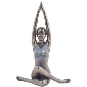 7.5 inch Figure Woman poses in Yoga Sun Salutation