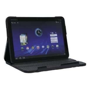Noreve Black Leather Flip Case Motorola Xoom Electronics