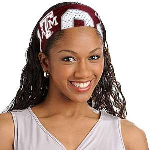Texas A&M Aggies TAMU NCAA Jersey Fanband Headband: Sports