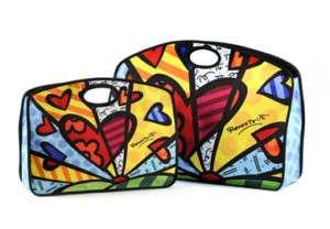 Romero Britto Grab Bag Set (2 piece) in microfiber