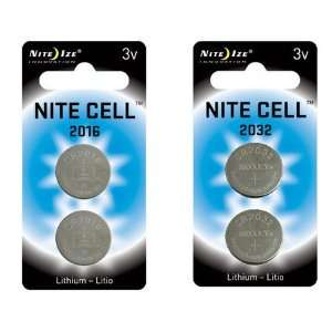 Nite Cell Replacement Batteries for Nite Ize LED Products Sports