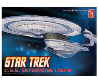 This is the STAR TREK USS ENTERPRISE NCC 1701 B 1/1000 scale model (18