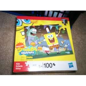 Nickelodeon Spongebob Squarepants 100 Piece Puzzle Toys & Games