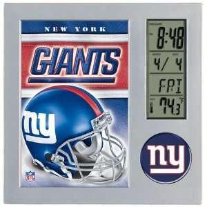 New York Giants NFL Team Desk Clock