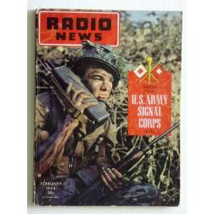 U.S. Army Signal Corps Special 1944 Issue February