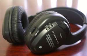 ICON TV WIRELESS DVD HEADPHONE INFRA RED INFRARED