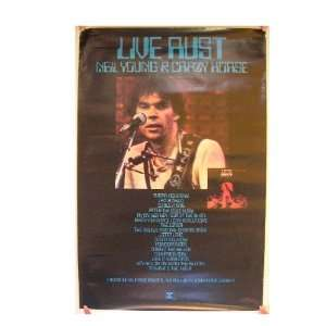 Neil Young Poster with Crazy Horse Live Rust