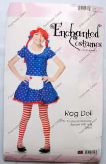 Child Girls Halloween Rag Doll Costume Outfit New