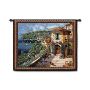 Villaggio Sulla Costa by Guido Borelli, 53x39 Home