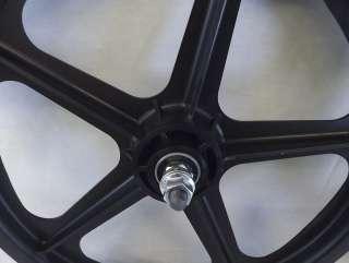 Tuff II Mag Wheels Black 16 Freewheel NEW BMX Pit Bike