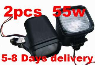 2pc 55W 9 32V XENON HID WORK LIGHT TRUCK/ATV/CAR/SUV