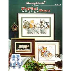 Playful Paws   Cross Stitch Pattern: Arts, Crafts & Sewing