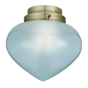 Fanimation G332G Light Green Fitter Glass Fan Light Kit