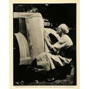 Automobile Valentino Sarra   Original Halftone Print